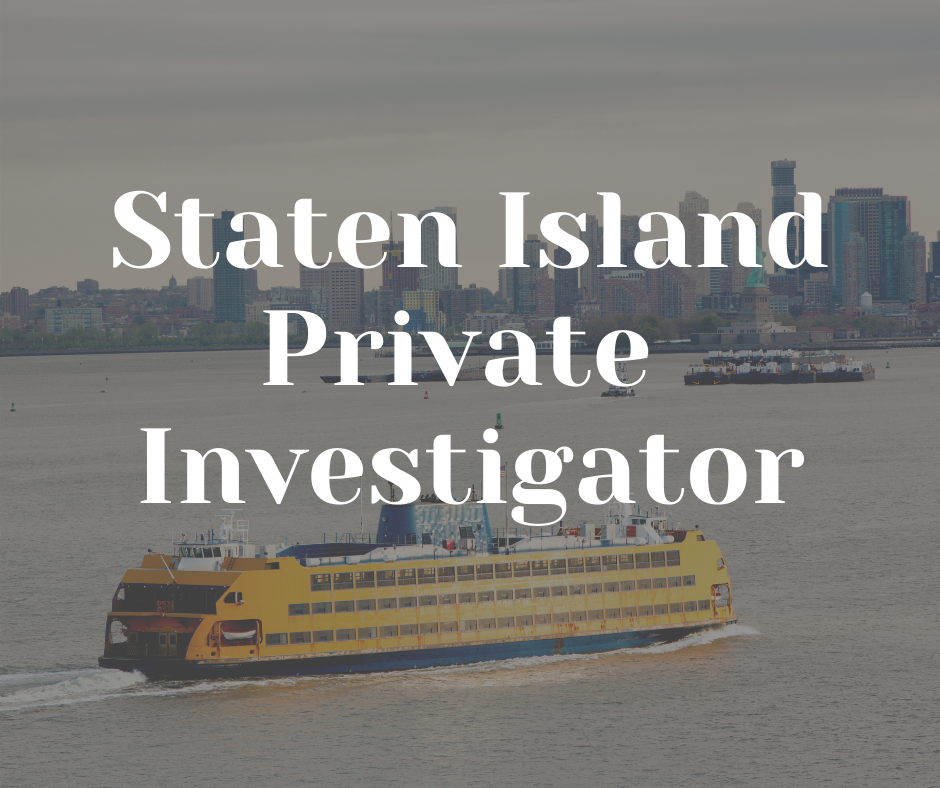 staten island Private Investigator american eagle staten island
